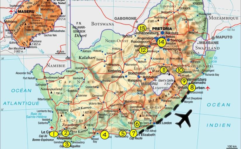 Afrique du Sud, nousvoilà!